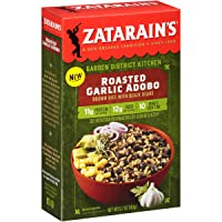 Zatarain's Roasted Garlic Adobo With Black Beans, 5.7 oz (Pack of 8)