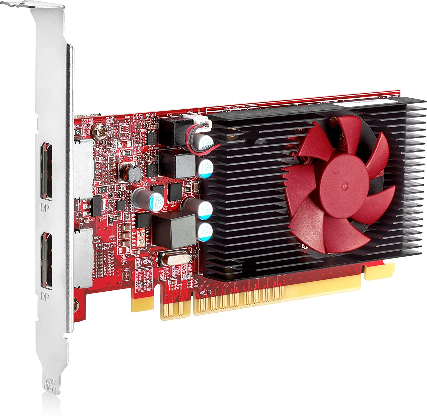 HP 3MQ82AA AMD Radeon R7 430 - Graphics Card - Radeon R7 430-2 GB GDDR5 - PCIe 3.0 x16 Low Profile - DisplayPort - for EliteDesk 800 G4, ProDesk 400