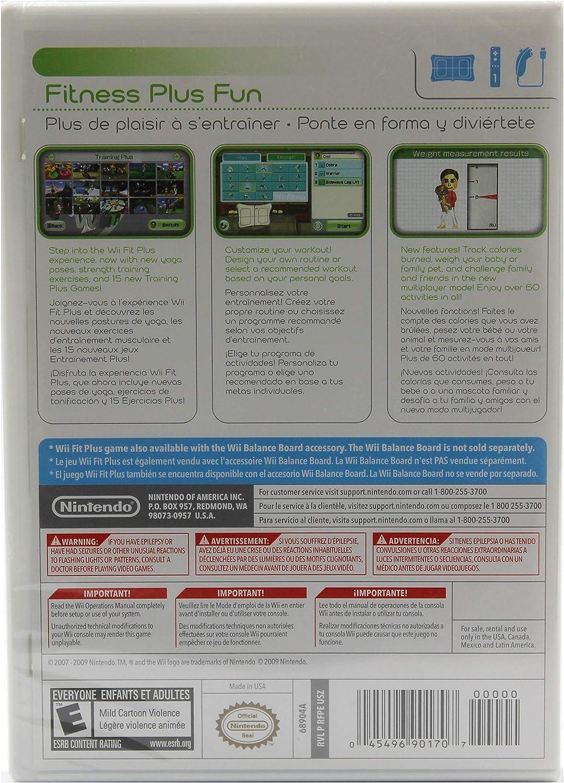 Amazon.com: Wii Fit Plus: Nintendo of America: Video Games