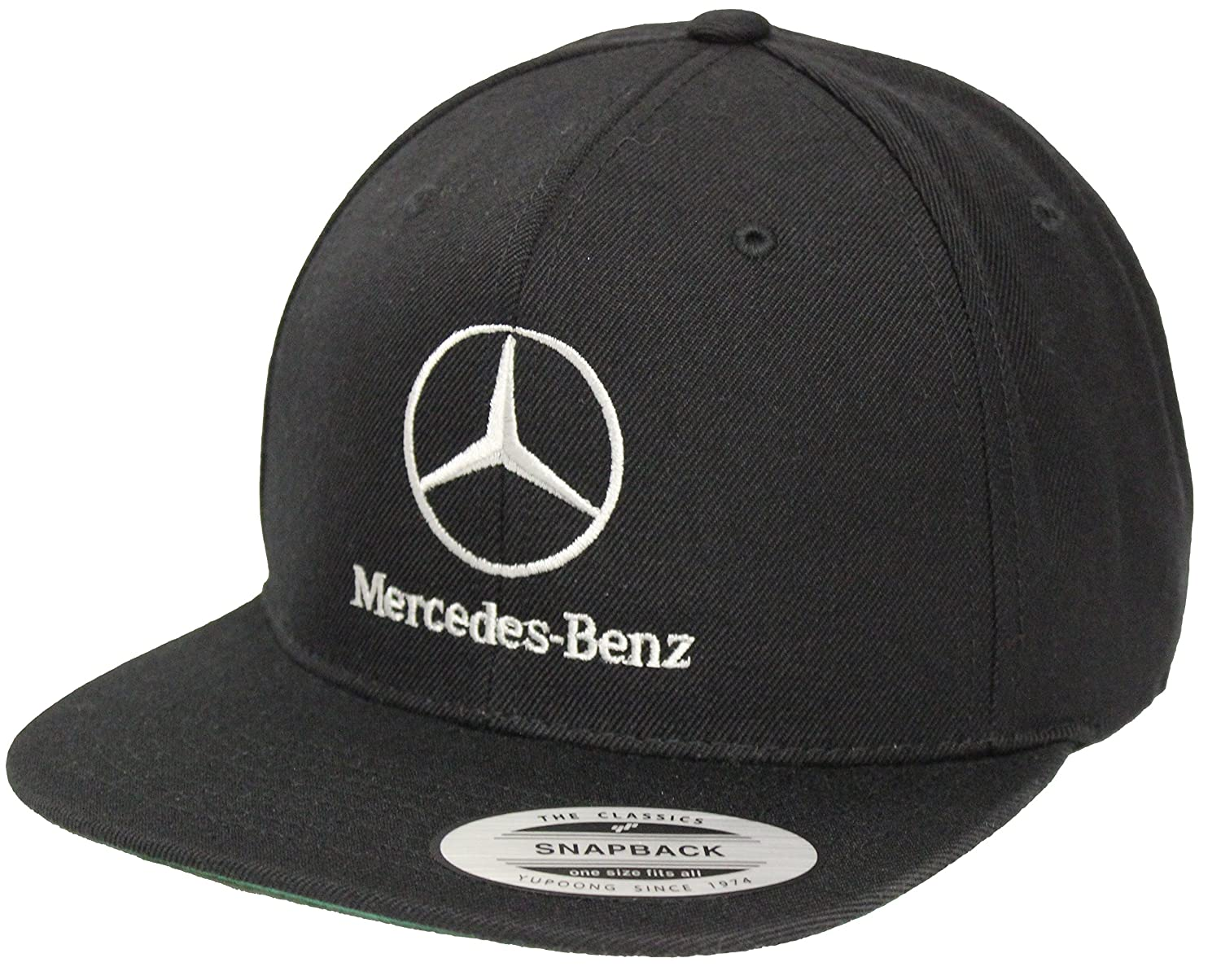 Mercedes-Benz Black Snapback at Amazon Men s Clothing store  2bfffb3f009