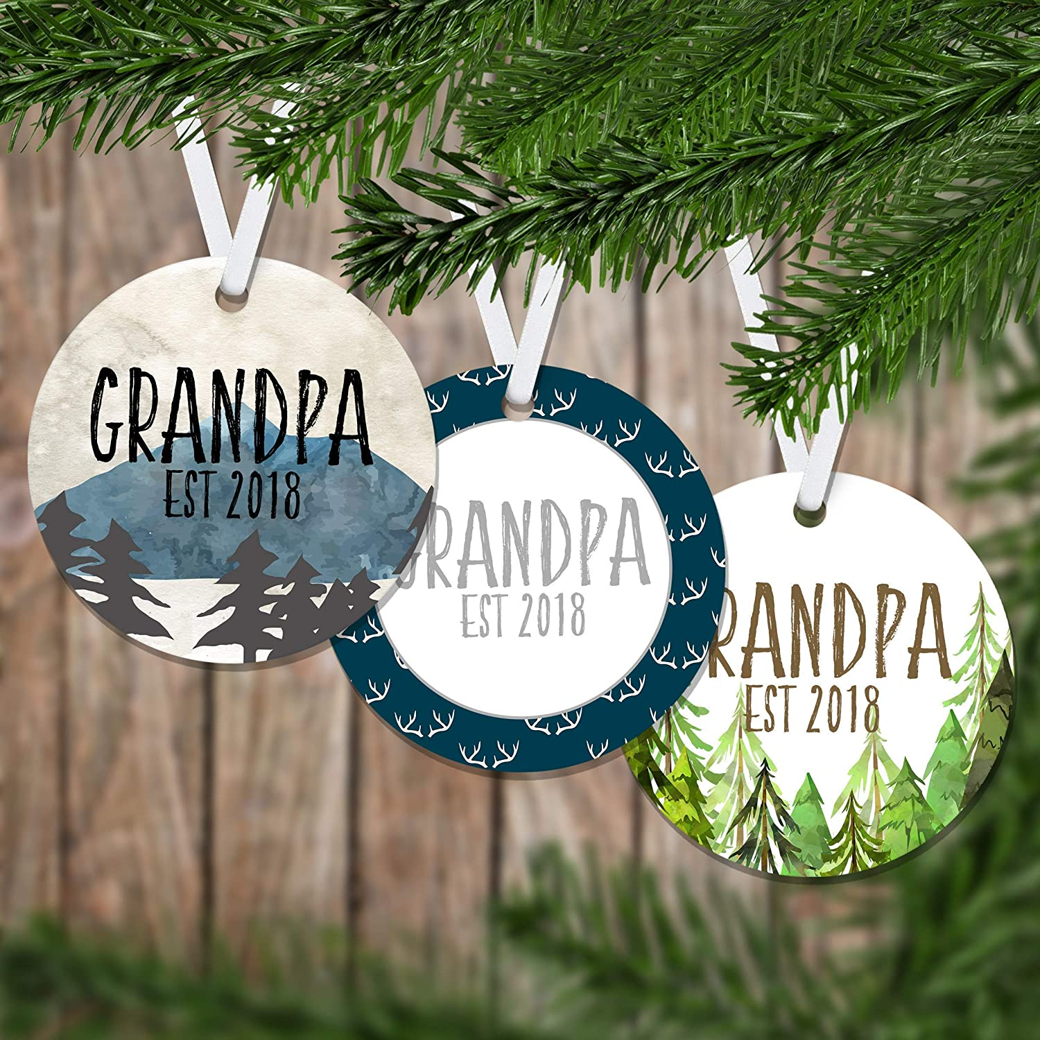 Christmas Gift Ideas For Parents.Amazon Com Personalized Pregnancy Announcement Est Christmas