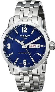 7e3652fcdca0 Tissot Men s T0554301104700 PRC 200 Analog Display Swiss Automatic  Silver-Tone Watch