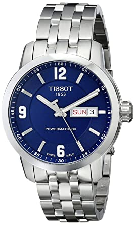 fd7c3fbc6 Image Unavailable. Image not available for. Color: Tissot Men's  T0554301104700 PRC 200 Analog Display Swiss Automatic Silver-Tone Watch