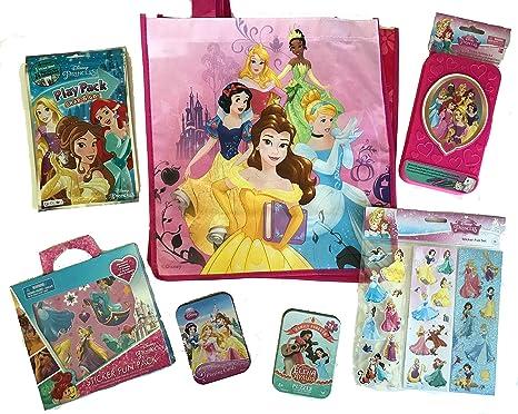 7134f7d870c5 Amazon.com: Travel Fun Disney Princess Set Activity Box, Grab & Go ...