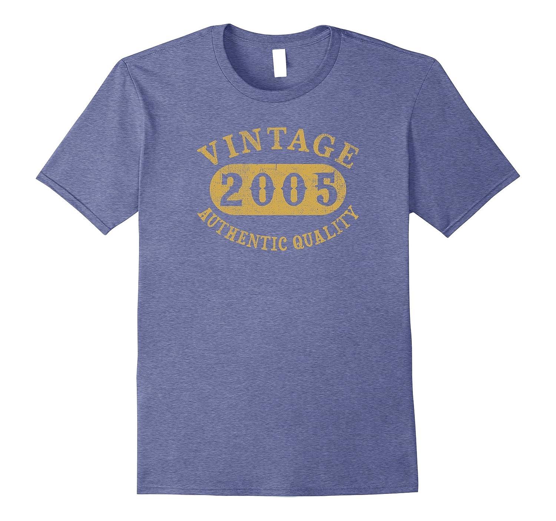 12 years old 12th B-day Birthday Gift Vintage 2005 T-Shirt-FL