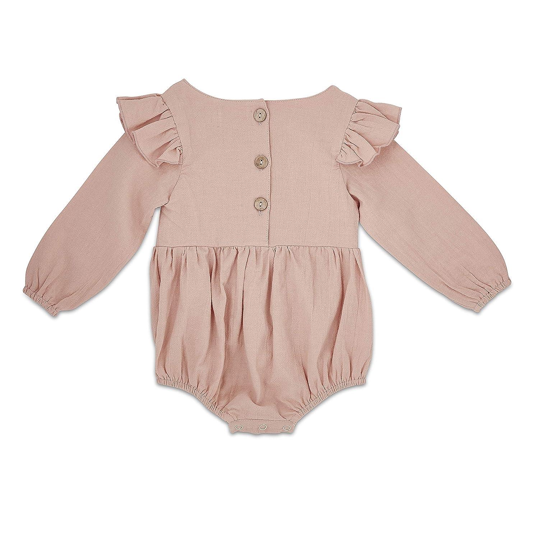 Amazon.com: Babe Basics - Pelele para bebé con mangas de ...