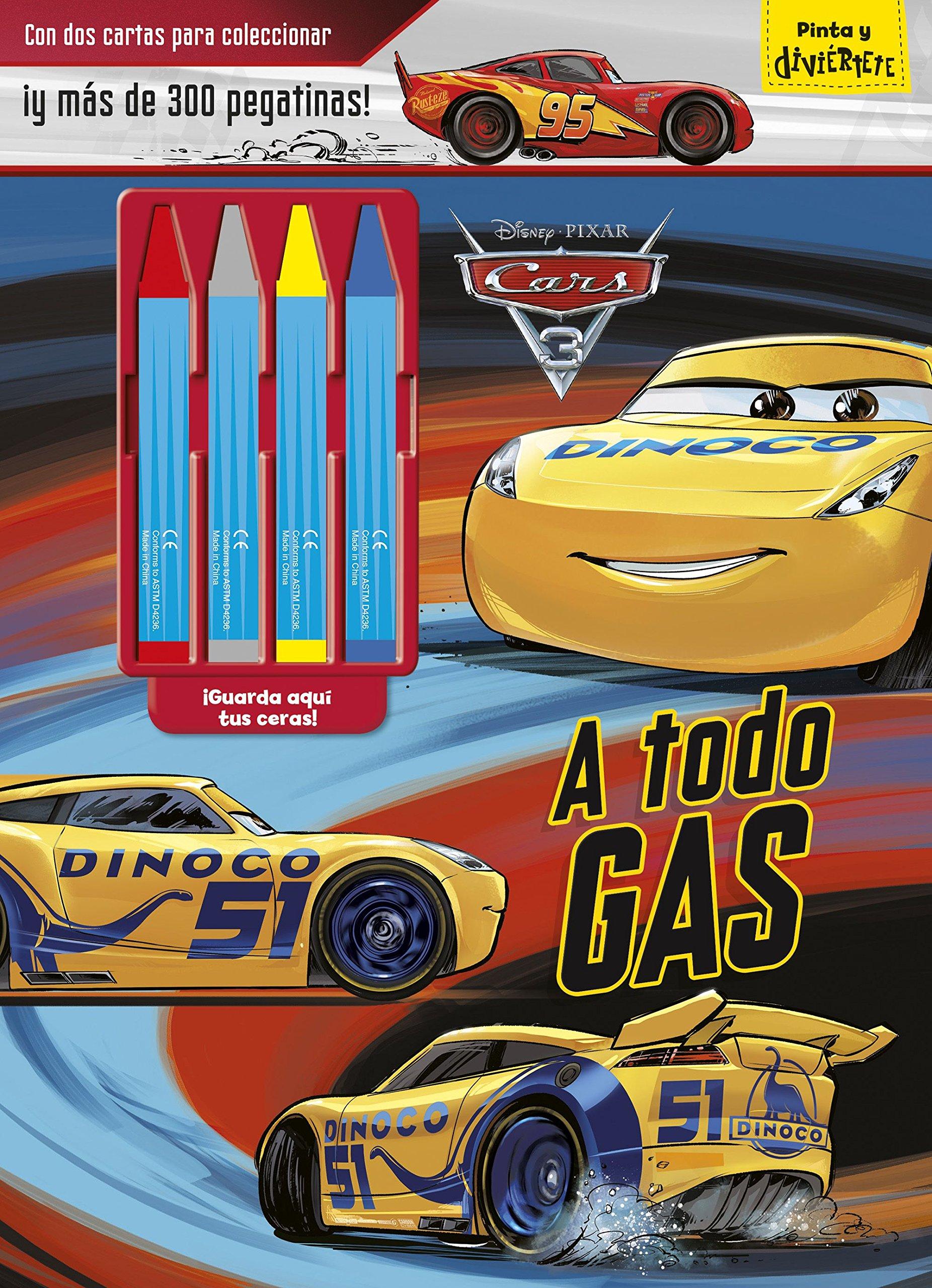 Cars 3. A todo gas: Con dos cartas para coleccionar ¡y más ...