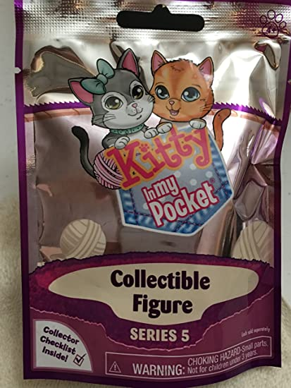 Lot of 3 Kitty in My Pocket Blind Packs Series 2 Gift Idea Stocking Stuffer