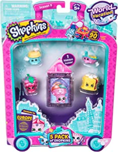 Shopkins S8 Europe Toy 5 Pack