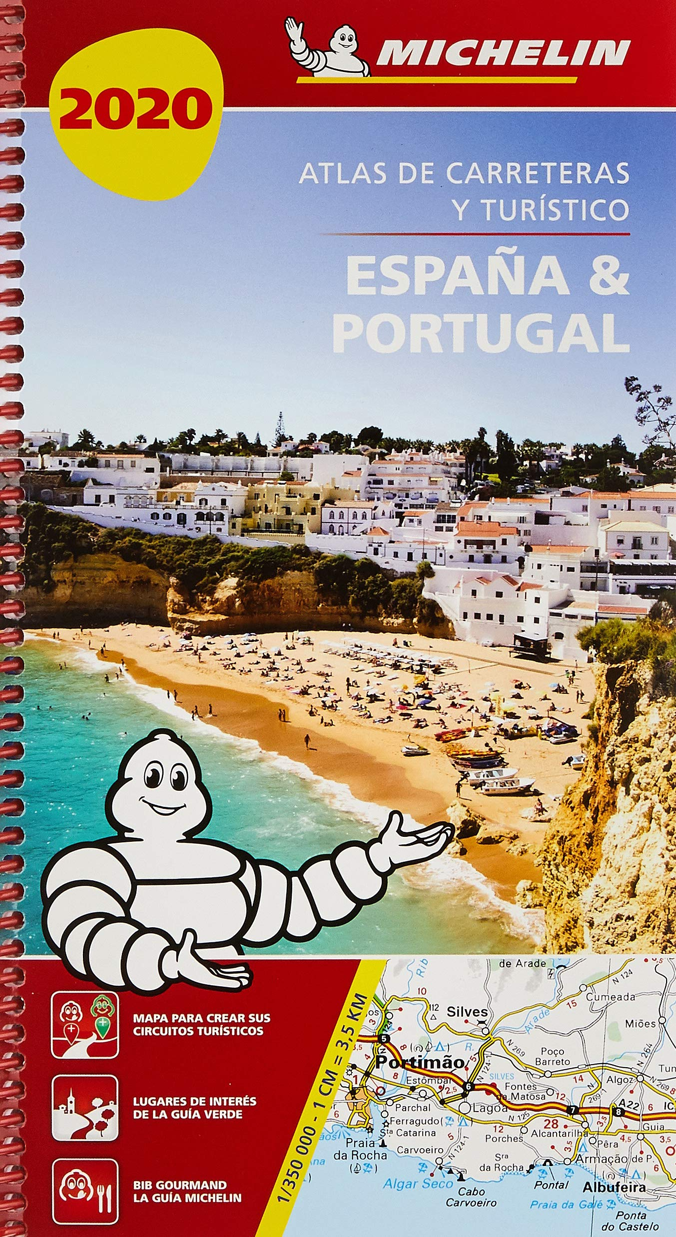 España & Portugal 2020 Atlas de carreteras y turístico Atlas de carreteras Michelin: Amazon.es: MICHELIN: Libros