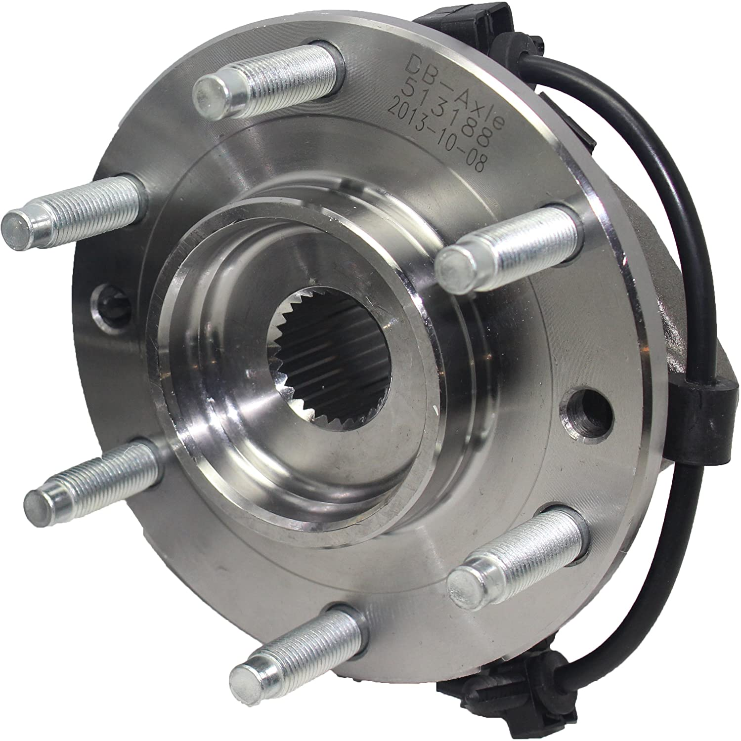 amazon com brand new both front wheel bearing and hub assembly