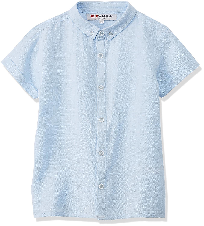 RED WAGON Jungen Leinen-Hemd 7439