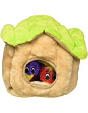 Outward Hound Kyjen 31009 Hide A Bird Dog Toys Interactive Plush Squeak 4-Piece Toy, Large, Multicolor