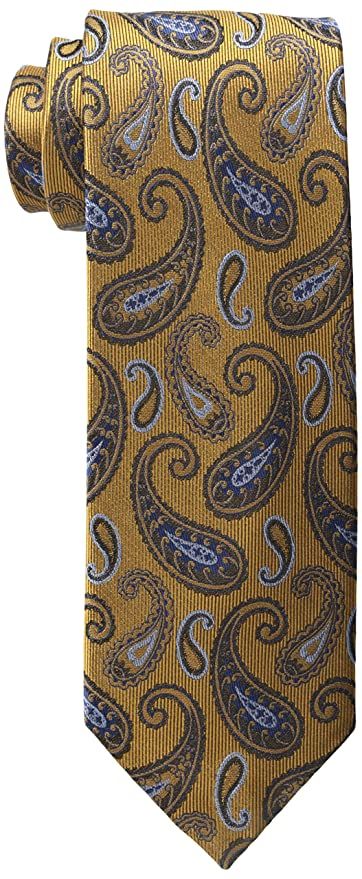 New 1920s Mens Ties & Bow Ties Haggar Mens Heritage Deco Paisley Tie $14.99 AT vintagedancer.com