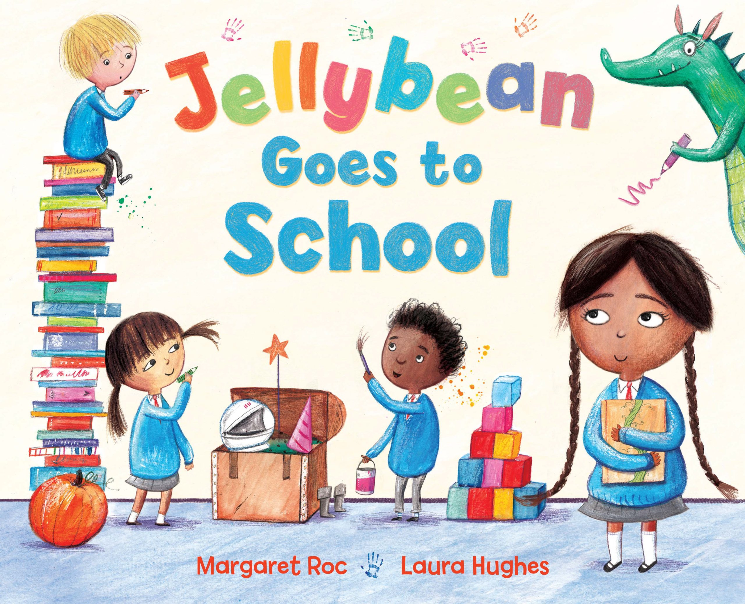 Jellybean Goes to School: Amazon.co.uk: Margaret Roc, Laura Hughes ...