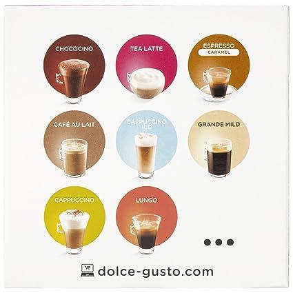 Cápsulas de Café con Estuche Nescafé Dolce Gusto 13065 Chai Tea Latte (16 uds): Amazon.es: Alimentación y bebidas