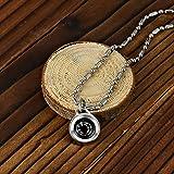 DAYHAO Navigation Compass Necklace, Waterproof