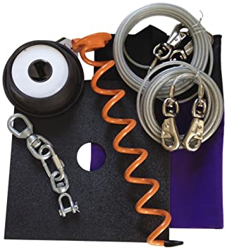 dog tie outs that dont tangle