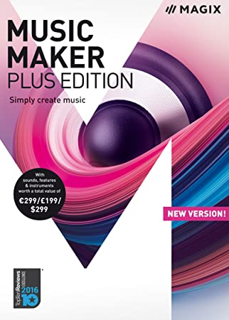 MAGIX Music Maker – 2018 Plus Edition – Produce, record and mix music [Download]