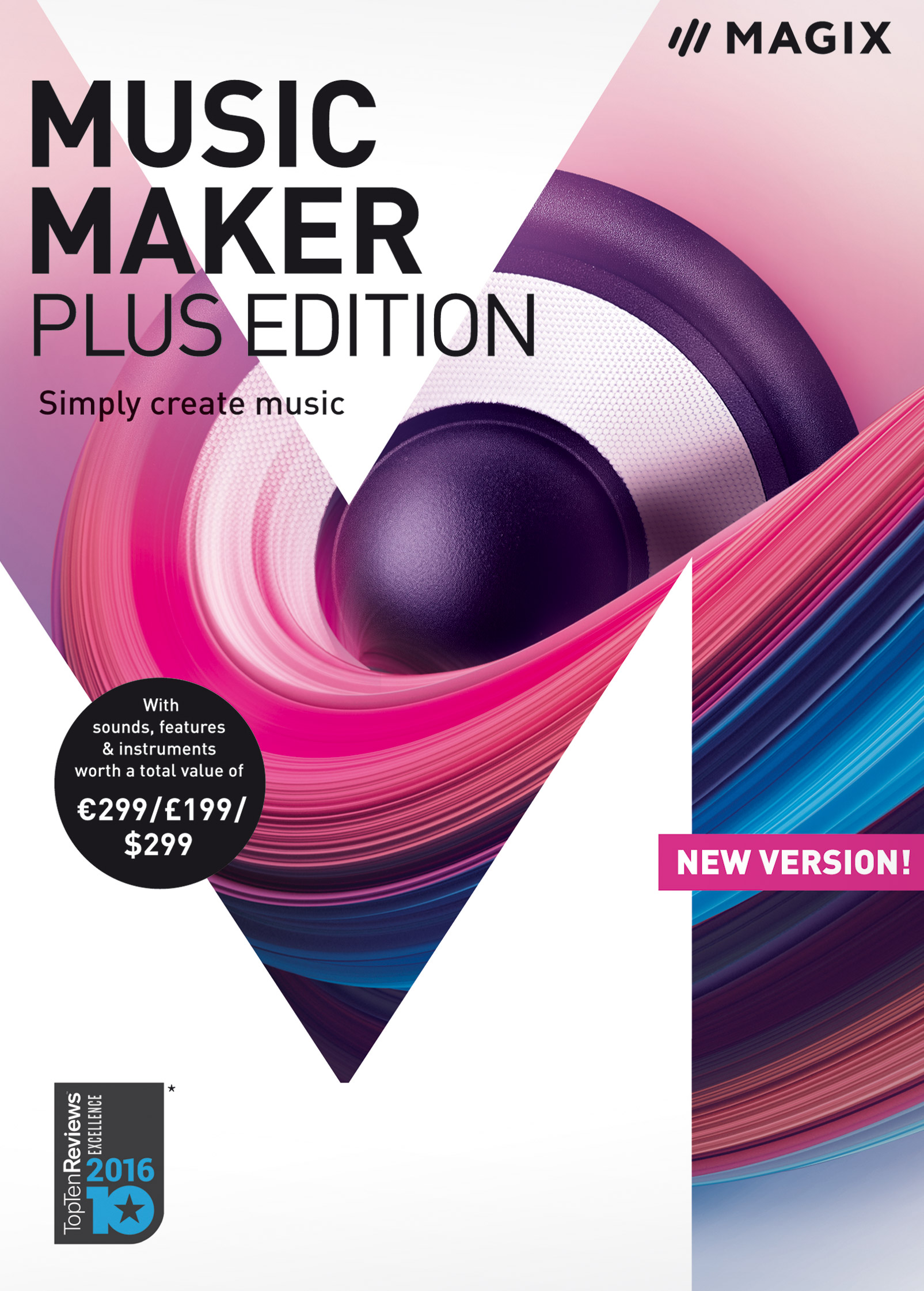 MAGIX Music Maker – 2018 Plus Edition – Produce, record and mix...