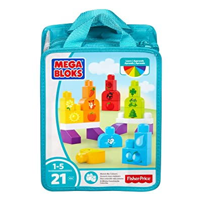 Mega Bloks Match My Colors Building Kit: Toys & Games