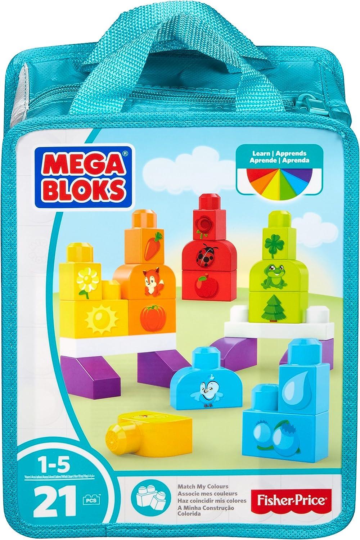 Mega Bloks Match My Colors Building Kit