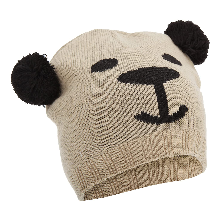 Floso Childrens/Kids Unisex Animal Design Winter Beanie Hat (Tiger, Panda, Bear, Dog) Dog) (One Size) (Bear) UTHA140_3