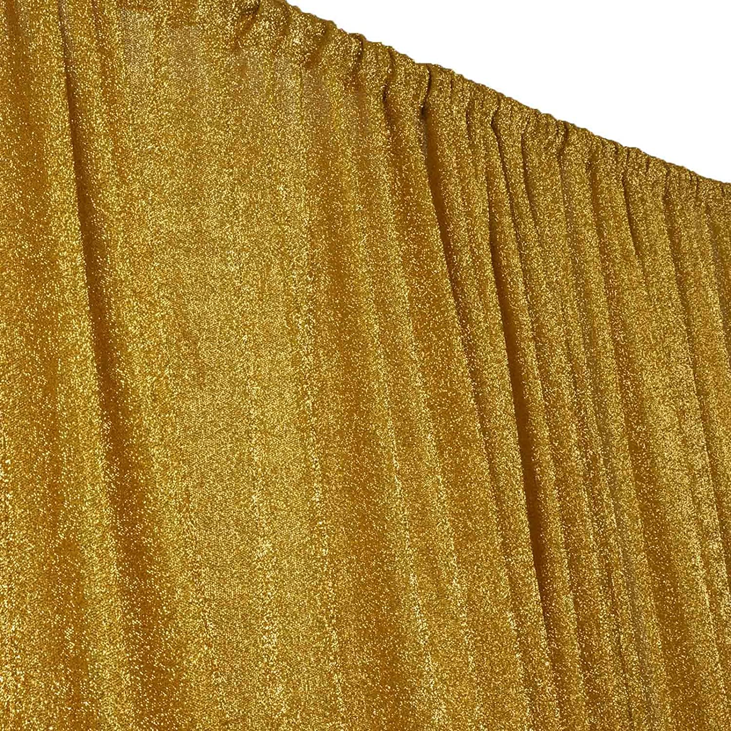 Gold Tableclothsfactory 20ft x 10ft Spandex Party Wedding Backdrop,Photography Background