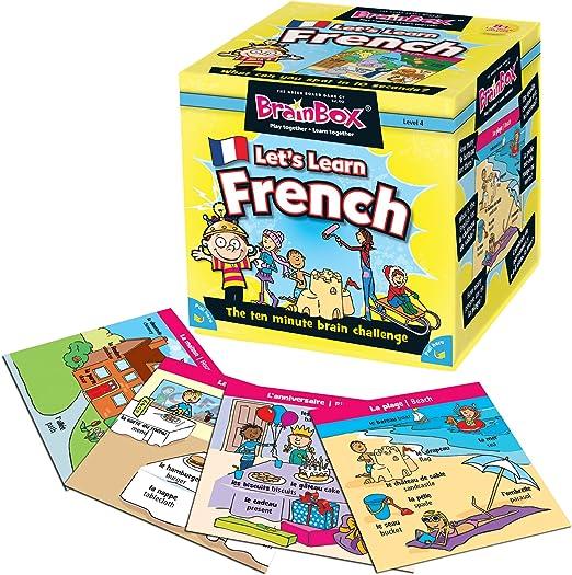 Brain Box- Juego Aprendamos Francés, Multicolor (BrainBox G0990055): Amazon.es: Juguetes y juegos