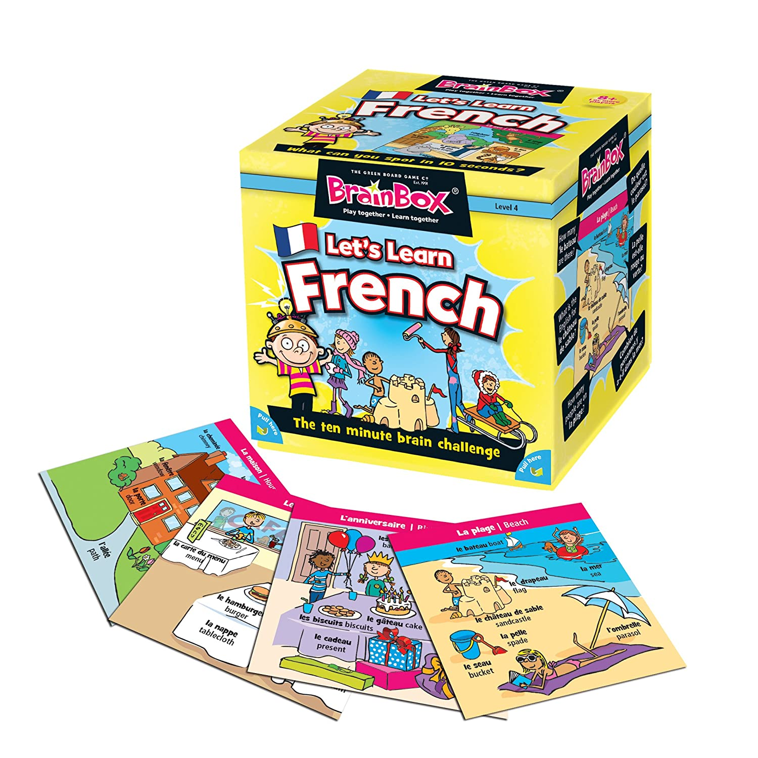 Brainbox Lets Learn French