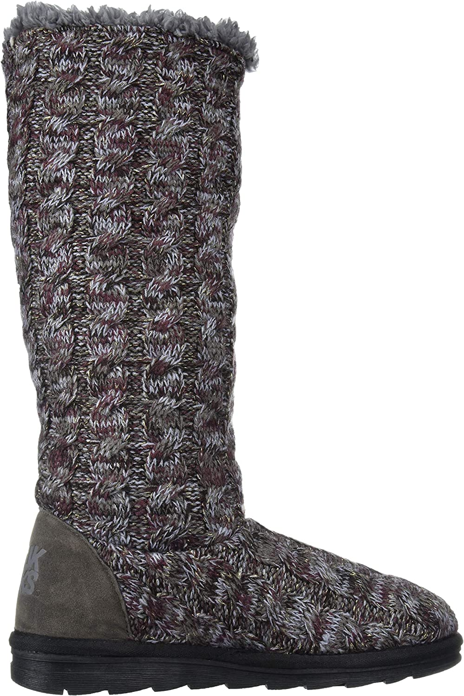 100% authentisch Rabatt Begrenzen 100% Garantiert MUK LUKS Damen Women's Felicity Boots Kniehoher Stiefel Violett TFuRI ge9HT QIHpn