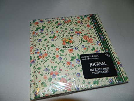 Amazon country blooms 160 ruled page journal designers country blooms 160 ruled page journal designers collection by american greetings 625quot m4hsunfo