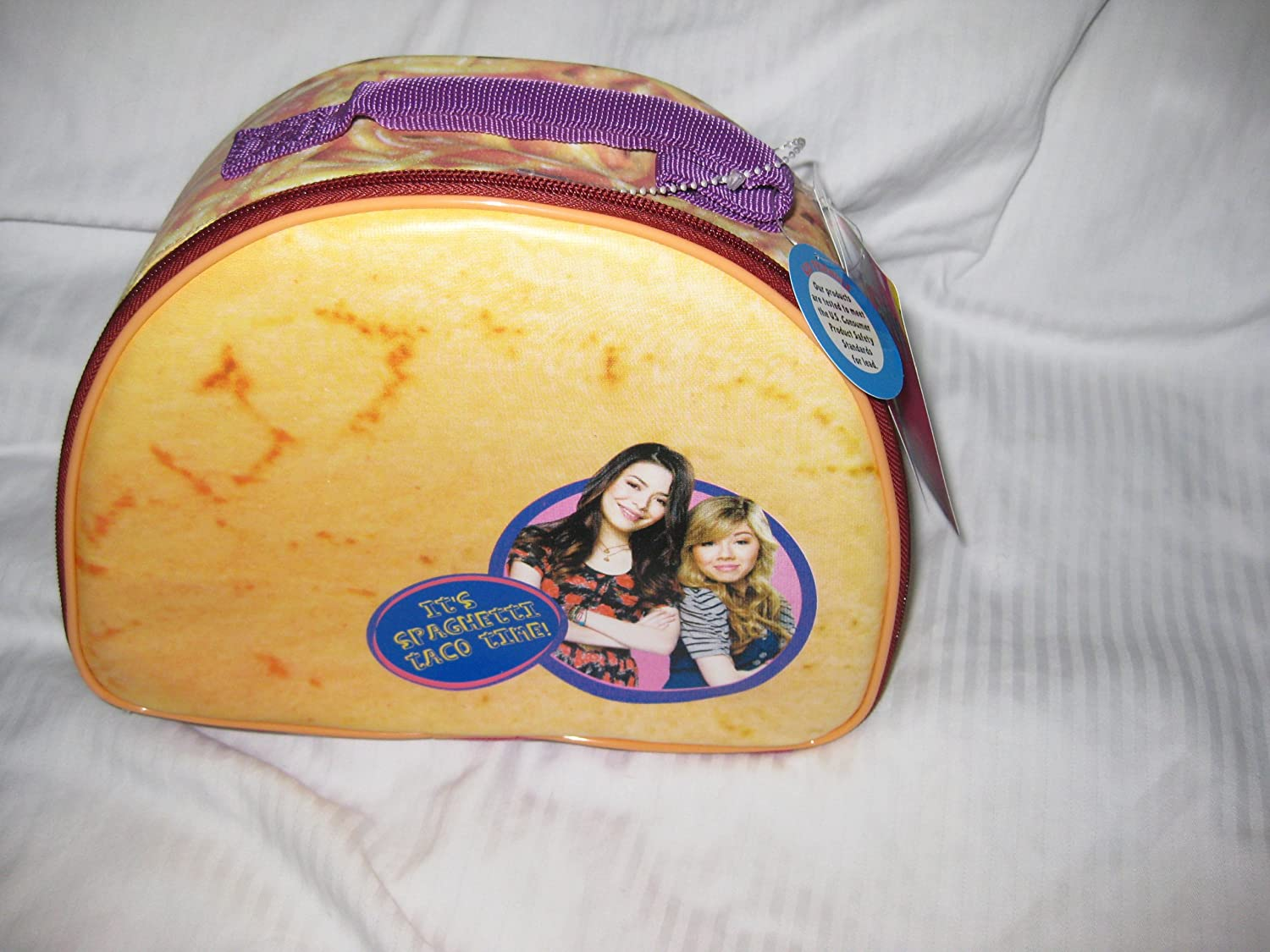 Icarly Spaghetti Taco Insulated Lunch Bag Amazon Ca Home Kitchen