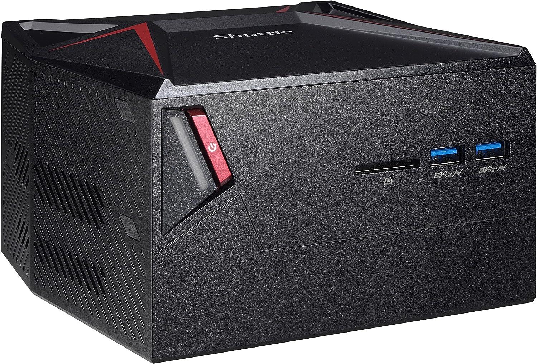 Shuttle XPC X1 Gaming Nano DKA1GH5 Intel Kabylake-H i5-7300HQ, GeForce GTX 1060, 8GB DDR4, 128GB SSD, 1TB HDD, Windows 10, Black