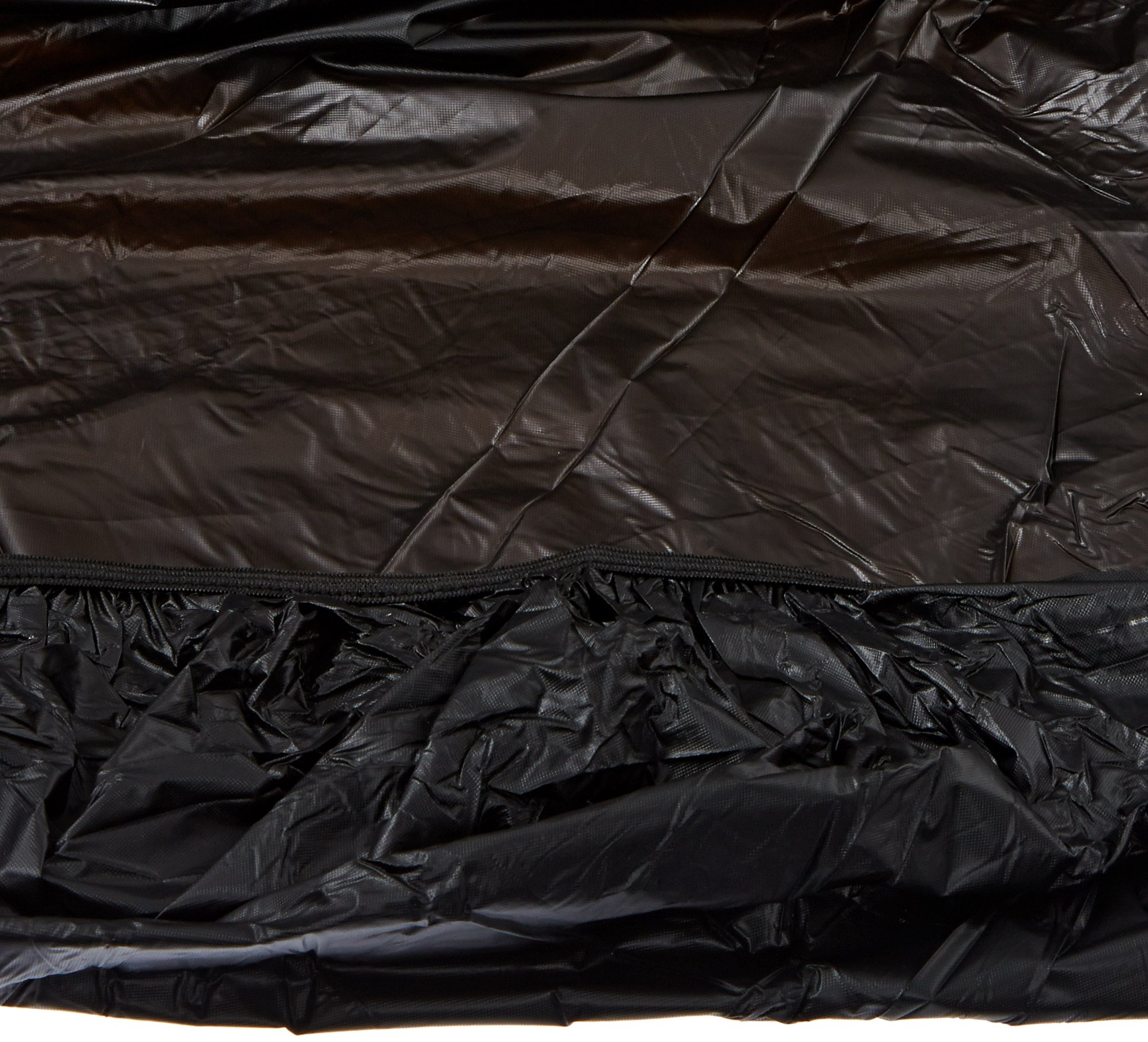 Kwik-Cover 3072PK-BLK 30'' X 72'' Kwik-Cover- Black Fitted Table Cover (1 full case of 50) by Kwik-Covers