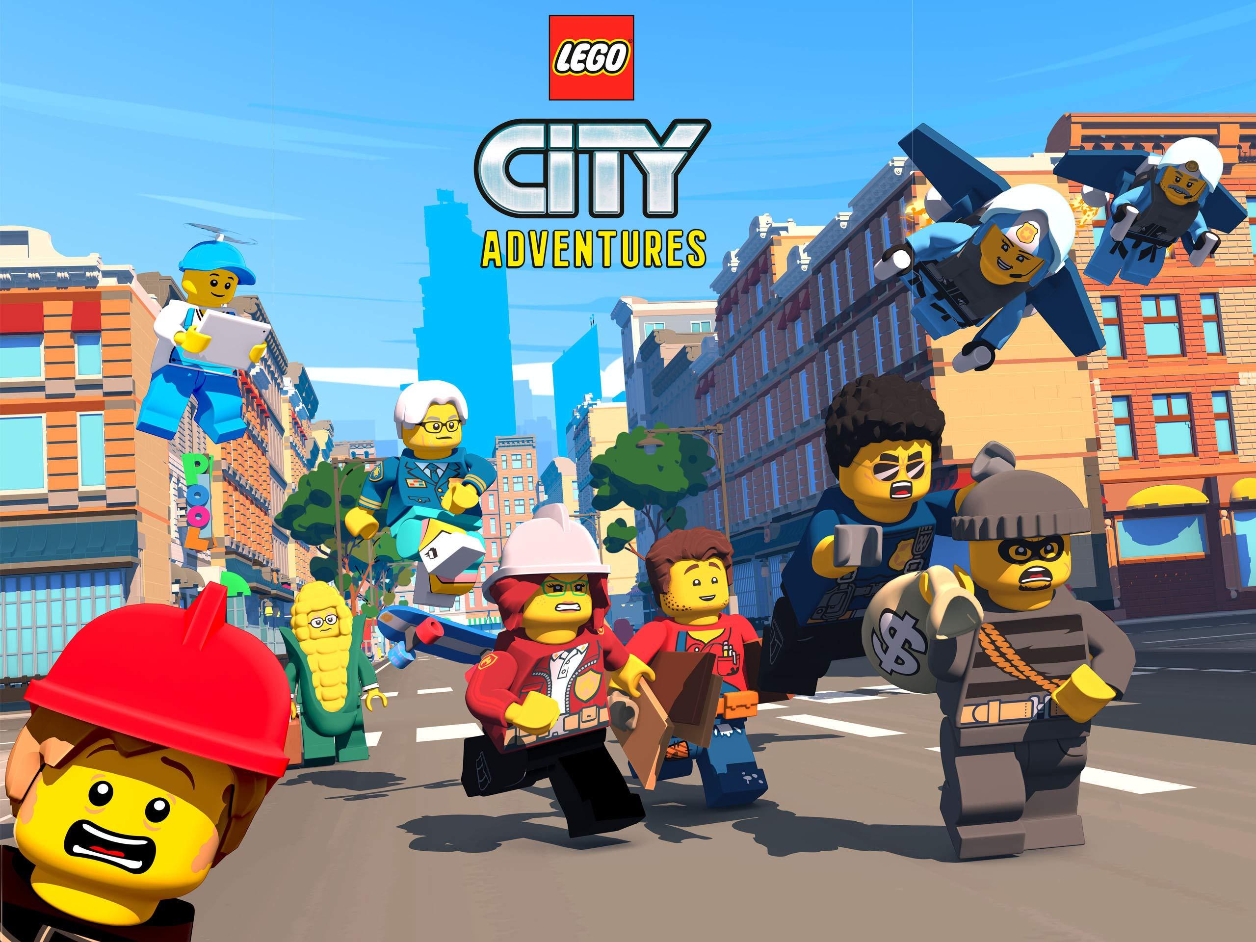 Amazon De Lego City Adventures Season 1 Ansehen Prime Video