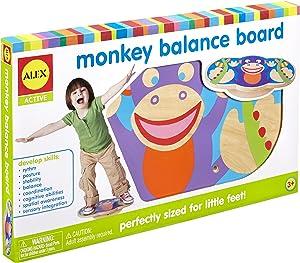 Alex Active Monkey Kids Toddler Balance Board