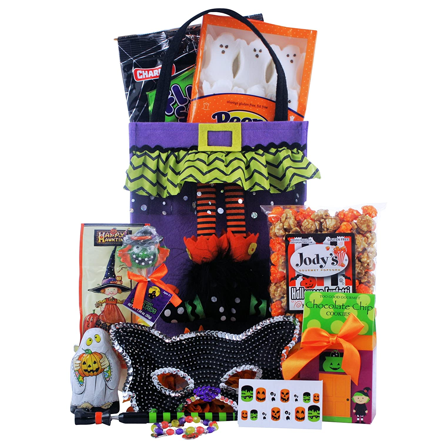 Amazon sparkly spooky fun halloween gift basket tween amazon sparkly spooky fun halloween gift basket tween girl ages 9 to 12 gourmet candy gifts grocery gourmet food negle Image collections