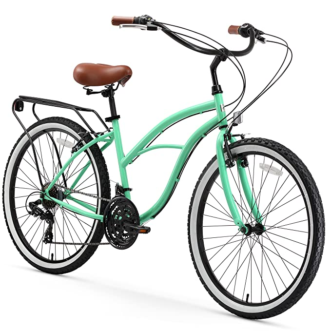 Best Touring Bikes: Sixthreezero Around the Block Women's Cruiser Bike