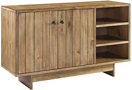 Amazon.com: Crosley Furniture Roots Sideboard Living Room Storage ...