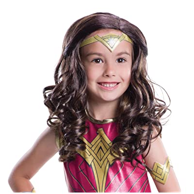 Rubie's Costume Batman V Superman: Dawn of Justice Wonder Woman Wig: Toys & Games