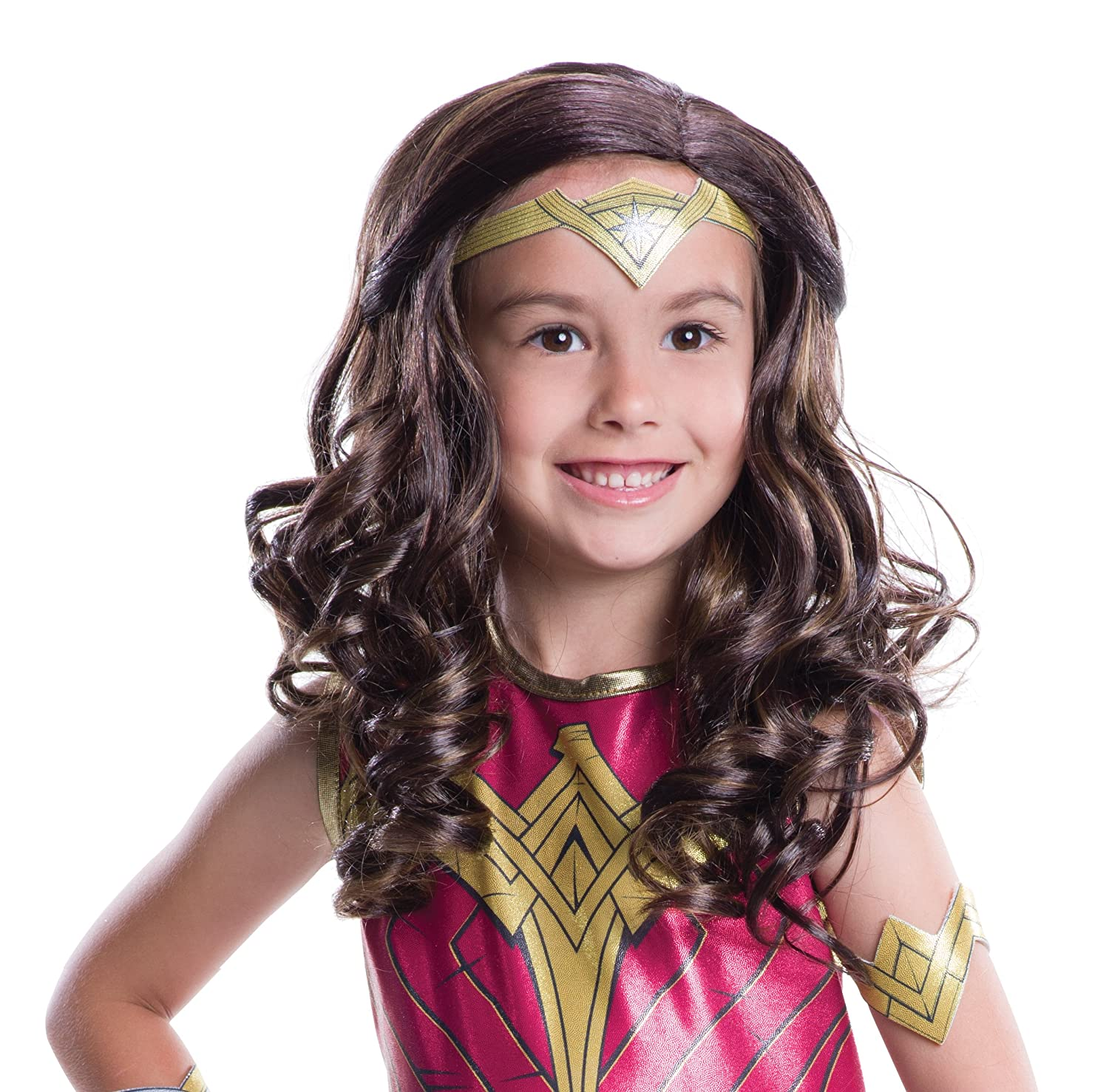 Rubie's Dawn of Justice Child Wonder Woman Wig Rubies - Domestic 32692