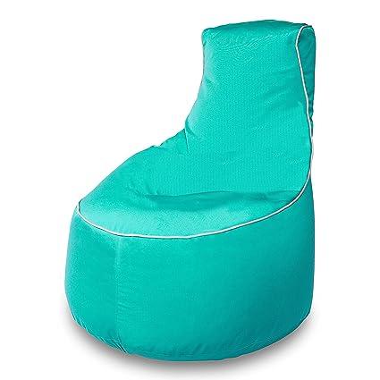 Tremendous Amazon Com Sunbrella Upright Bean Bag Chair With Lumbar Frankydiablos Diy Chair Ideas Frankydiabloscom