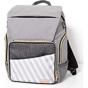 Amazon.com   Backpack Diaper Bag - Large Multifunction Travel Back ... 025f248c2a539