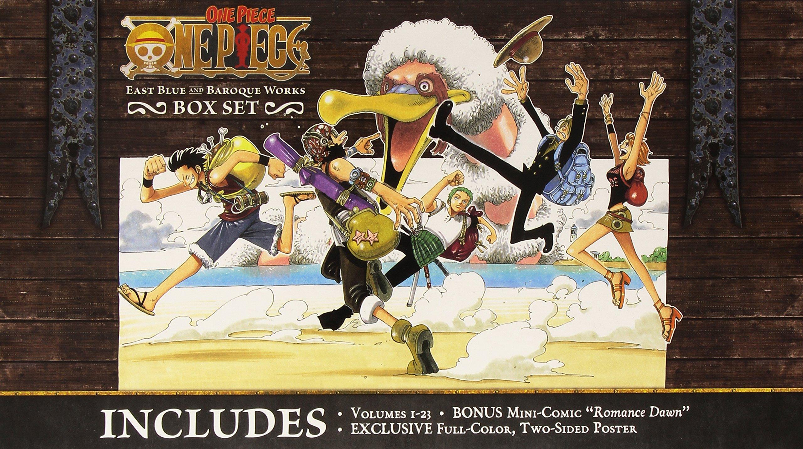 One Piece Box Set Volume 1 [Idioma Inglés]: Amazon.es: Oda, Eiichiro, Oda, Eiichiro: Libros en idiomas extranjeros