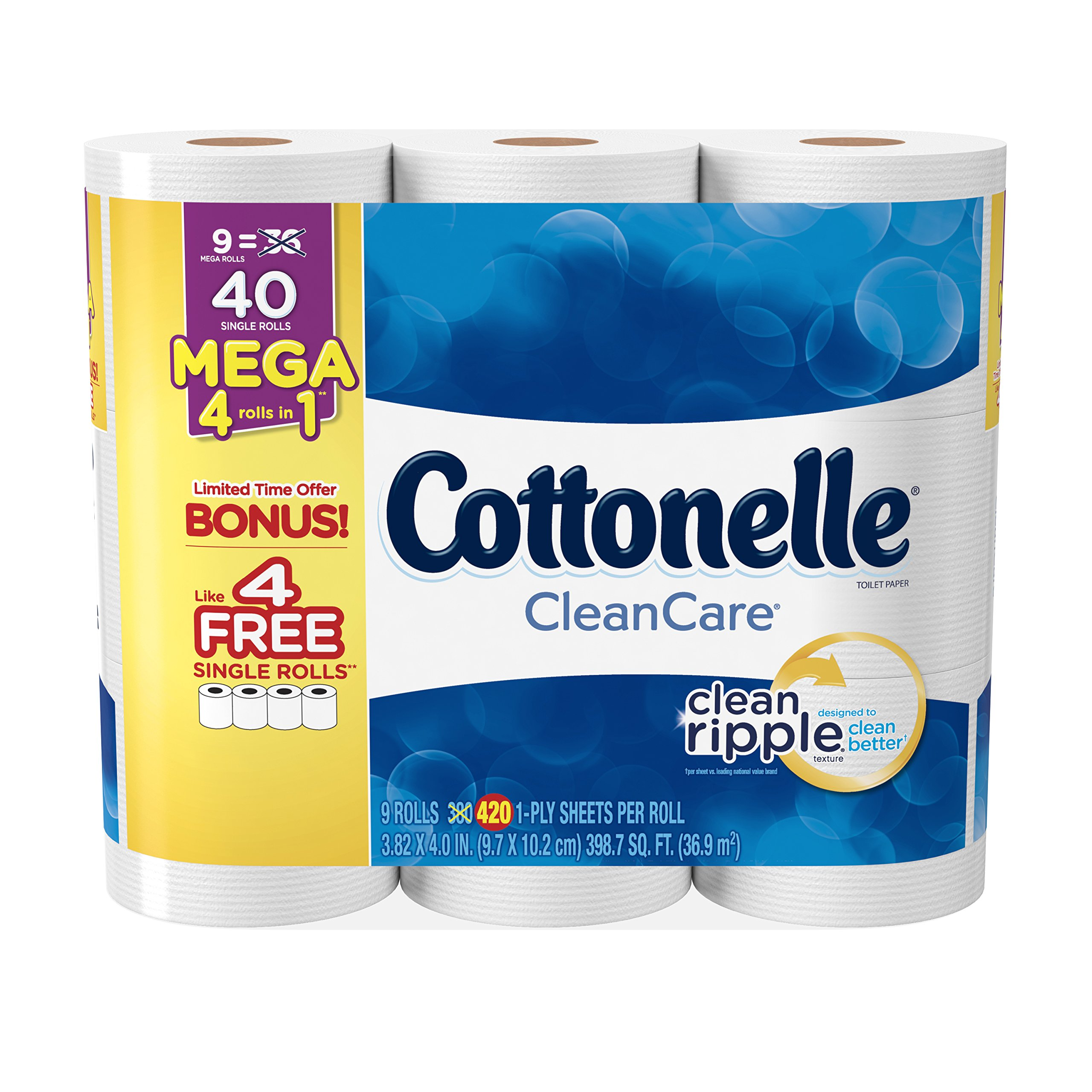 Cottonelle Ultra Cleancare Toilet Paper by Cottonelle