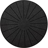 Lazy K Induction Cooktop Mat - Silicone Fiberglass Magnetic Cooktop Scratch Protector - for Induction Stove - Non slip…