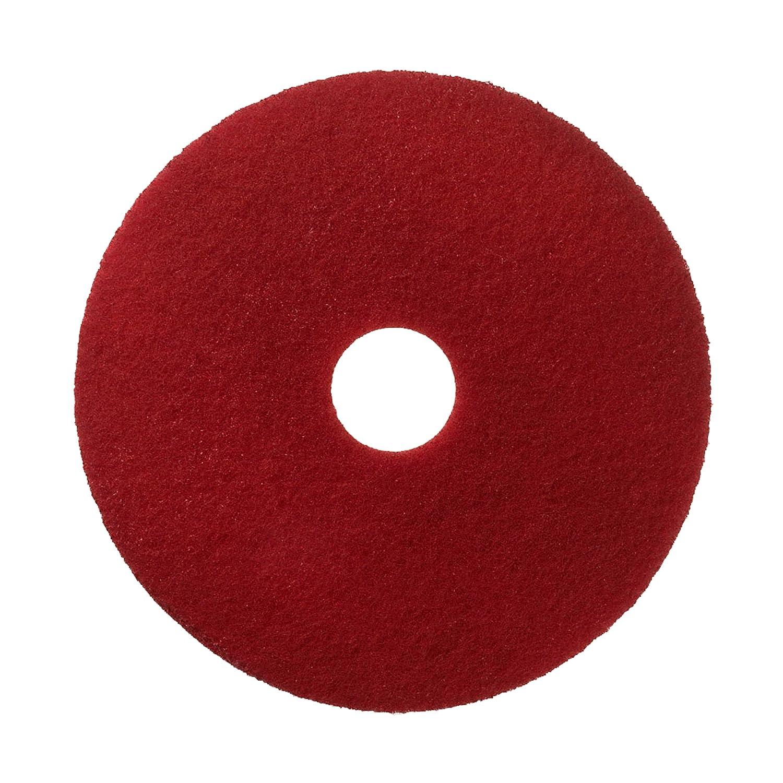 3M Prodotti per Manutenzione Regolare Scotch-Brite Disco Rosso, 432 mm, 5 Pezzi 7000033406