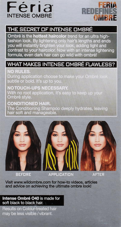 LOreal Paris Feria Brush-On Intense Ombre Effect Hair Color ...