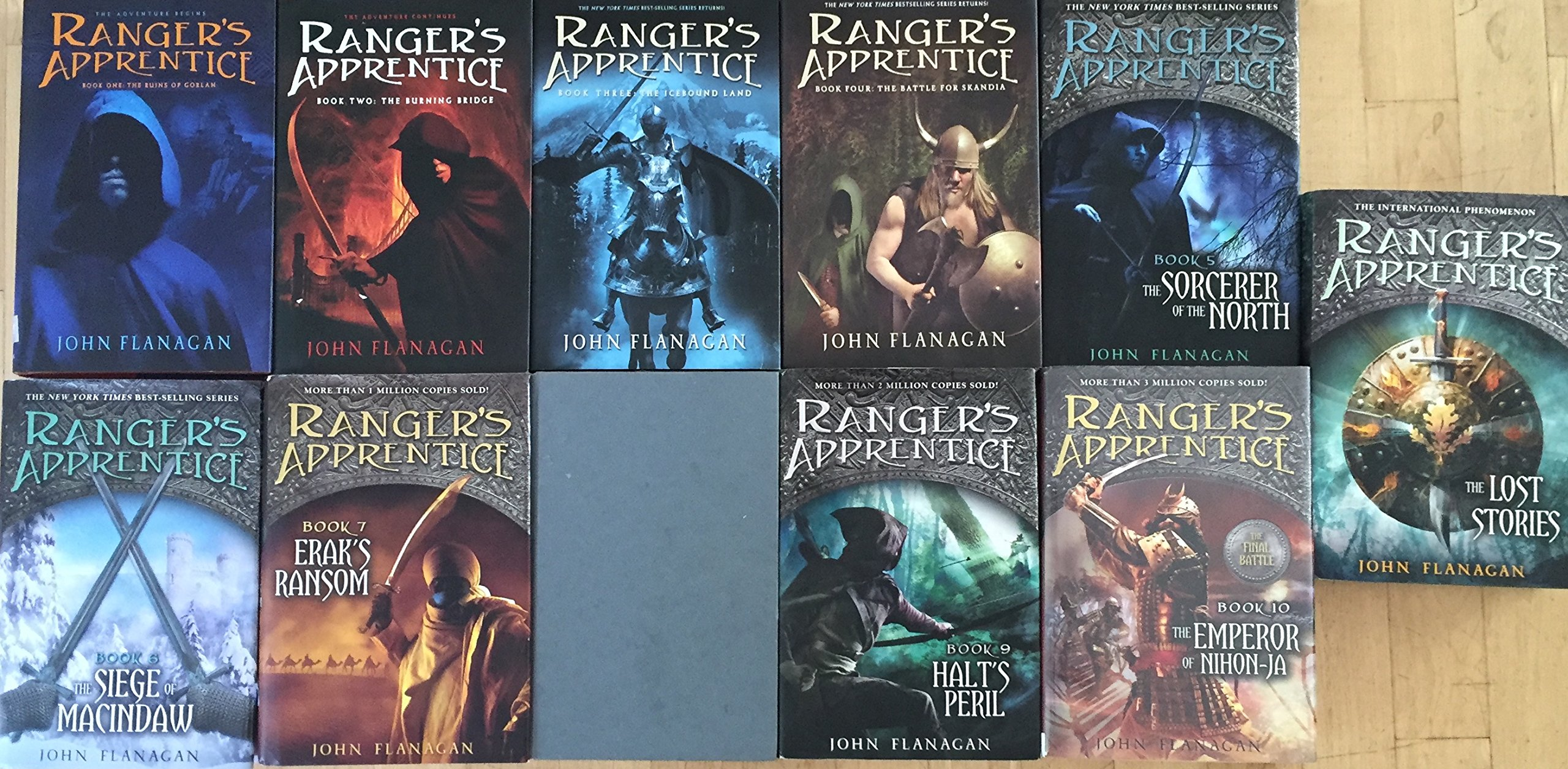Download Ranger's Apprentice Hardcover Series Set by John Flanigan Books 1-10 plus Lost Stories pdf